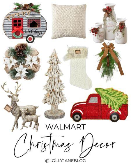Walmart Christmas Decor!   #LTKHoliday #LTKhome #LTKGiftGuide