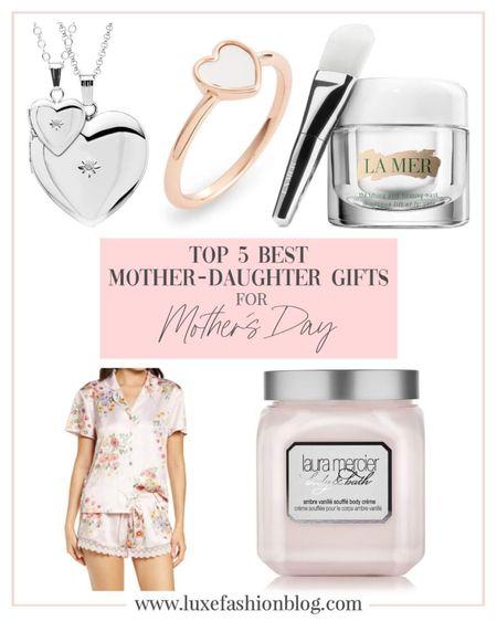 Top 5 Best Mother-Daughter Gifts For Mother's Day http://liketk.it/3eUFp #liketkit #LTKbeauty #LTKstyletip @liketoknow.it #LTKfamily