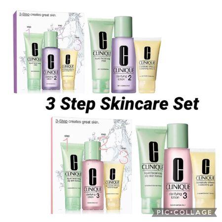 Three-step  skin care http://liketk.it/3hc8A #liketkit @liketoknow.it #LTKunder100 #LTKunder50 #LTKbeauty