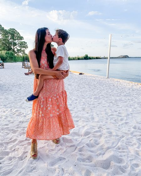 Beach dresses that are perfect for your summer vacation - and it's on sale! I have my little boys outfit and best summer shoes linked as well! http://liketk.it/3ijVP @liketoknow.it @liketoknow.it.family #liketkit #LTKkids #LTKfamily #LTKtravel