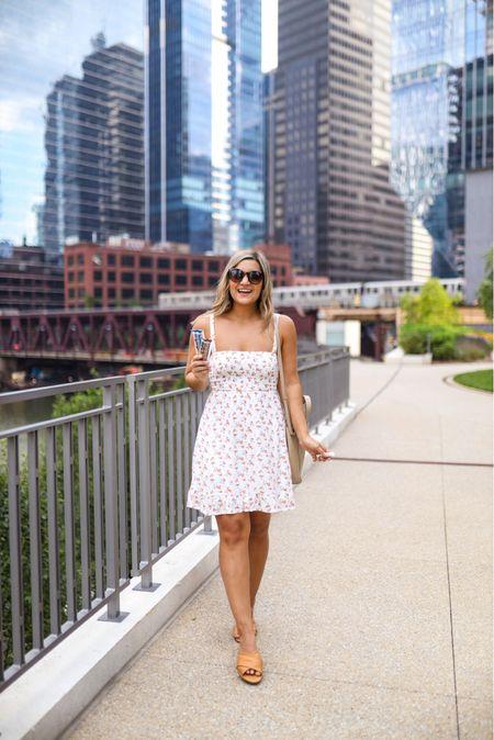 An easy smocked sundress for warm summer days!   #LTKunder100