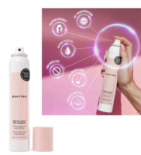 Beauty Bio Dry Shampoo plus scalp rejuvenation. New products. Hair products.  #LTKbeauty #LTKunder50