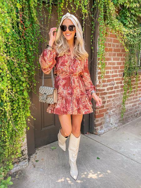 Buddylove dress  Size XS (tts)  15% off code: JANELLEPAIGE Boots: true to size  Sunnies: worth the splurge    #LTKtravel #LTKunder100 #LTKstyletip