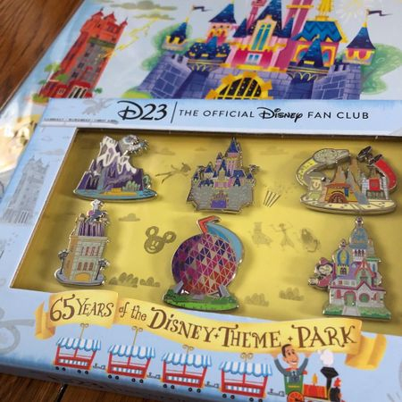 Allowed myself a little frivolous splurge with my stimulus money before I put it to more practical use. Been trying to find a good deal on this limited edition @disneyd23 pin set since it came out last year. While I still paid more than I wanted, I don't have to look anymore so that's a plus! (I wasn't a D23 member so I couldn't just buy it, grr!) Matches the D23 issue I also got on eBay last year, haha!  I fell in love with the illustrations.  Are you going to have some fun with your stimulus?  #disneyd23 #disneypins #disneypincollector    http://liketk.it/3aQYE #liketkit @liketoknow.it