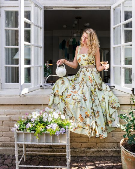 Who says a wedding guest dress can't be used for more than just dancing? I've rounded up a lot of colorful and fun frocks for you to shop for any upcoming summer weddings you may be attending. This dress is sold out but linking many similar ones below! #competition   #LTKwedding #LTKSeasonal