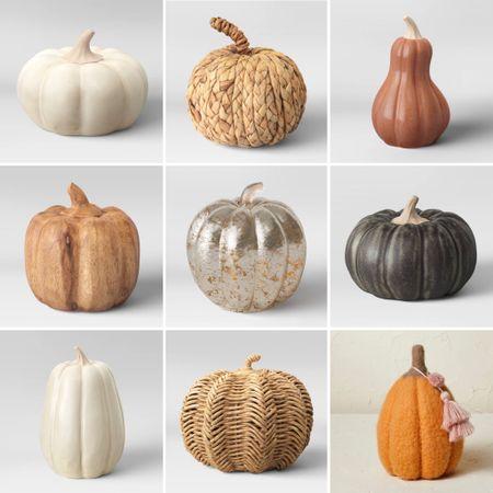 @target really got the memo on fabulous pumpkins this season! How will I ever choose?!?!  #LTKunder50 #LTKSeasonal #LTKhome