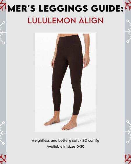 The COMFIEST. #leggingsguide #lululemon #LTKfit #LTKgiftspo #LTKsalealert http://liketk.it/322bQ #liketkit @liketoknow.it