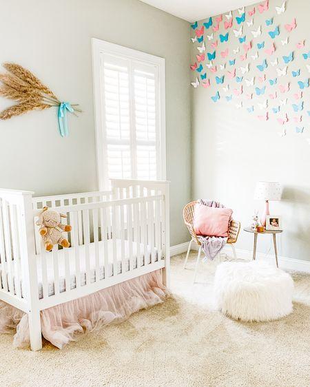 Baby girl nursery inspo  #LTKbaby #LTKbump #LTKkids @liketoknow.it.home @liketoknow.it.family #liketkit http://liketk.it/3h7y1 @liketoknow.it