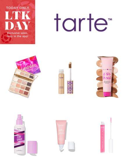 Tarte Cosmetics 20% off + free shipping with #ltkday promo code 🎉  Shape Tape, Sugar Rush Tinted Sunscreen, Setting Spray, Pink Lip Gloss, Lip Mask, Eyeshadow Palette   http://liketk.it/2SKgc #liketkit @liketoknow.it #StayHomeWithLTK #LTKsalealert