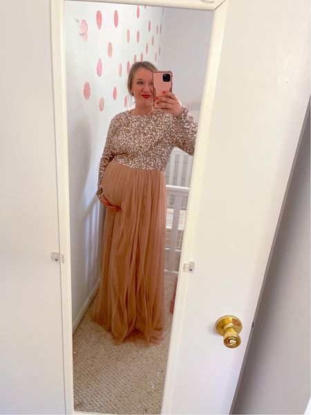 The most stunning and affordable dress for any event! I'm wearing this for my baby shower that is winter wonderland themed!
