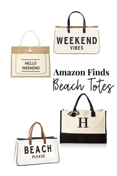 Amazon finds Beach bags Beach tote  http://liketk.it/3goLt #liketkit @liketoknow.it #LTKswim #LTKunder50 #LTKitbag