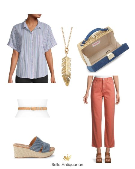 Mix these Madewell pieces with fun accessories for spring and summer!   #LTKstyletip #LTKunder100 #LTKshoecrush