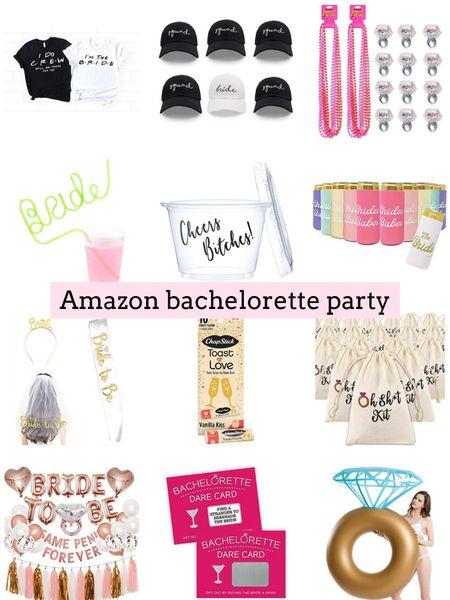 Amazon bachelorette party. Amazon finds. Wedding. Bride to be  .  http://liketk.it/3hSwr  #liketkit @liketoknow.it #LTKwedding #LTKunder50 #LTKstyletip