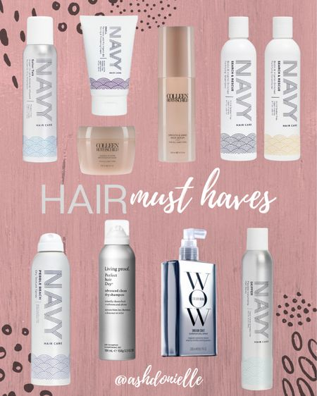 My hair product must haves! #haircare   #LTKbeauty #LTKunder100