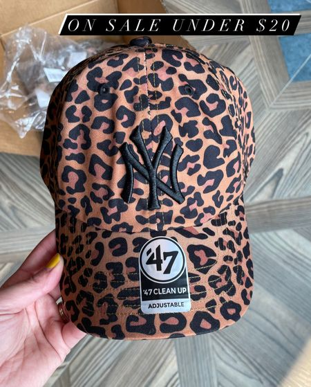 My leopard print baseball hat is on sale for under $20 at American eagle.   #LTKunder50 #LTKsalealert #LTKSeasonal