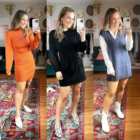 Amazon finds for fall! Fall dresses  #LTKshoecrush #LTKunder50 #LTKworkwear