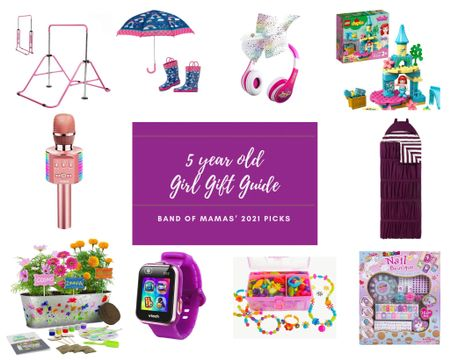 Shopping for the 5 year old sweetie in your life? Here are my top picks for 5 year old girl gifts this year! From gymnastics bars to Vtech watches, you're sure to find the perfect present for her. Loving the fleece & jean jacket and matching rain boots & umbrella! Don't forget to grab the planters kit for the little gardener in your life, too! http://liketk.it/39CXv #LTKkids #StayHomeWithLTK #LTKSeasonal #liketkit @liketoknow.it