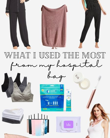 The items I actually used the most in my hospital bag 💗 http://liketk.it/3dDoB #liketkit @liketoknow.it