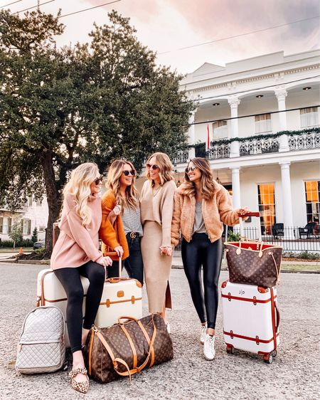 I always love a good New Orleans🎷 staycation especially when it means that I get to hang out with these babes all weekend at the cutest @henryhowardhotel! This is actually the hotel where we got ready at for my wedding so it's super special to me!  P.S. I have 2 big NOLA surprises for y'all tomorrow so stay tuned! ... Follow me in the @liketoknow.it app to shop my look! http://liketk.it/2zz0v #liketkit #LTKitbag #traveloutfit #travelbags #travelstyle