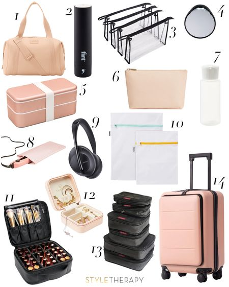 Travel like a pro with this gear! http://liketk.it/36bNZ #liketkit @liketoknow.it Shop your screenshot of this pic with the LIKEtoKNOW.it shopping app #LTKtravel #travel #vacation bags, organization, packing, style, lifestyle