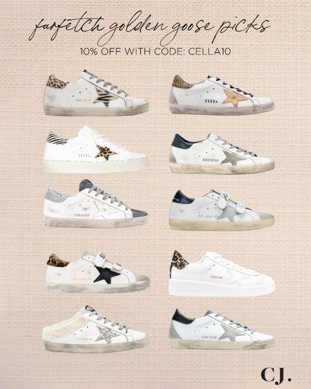 Golden goose sneakers 10% off with code: CELLA10  #LTKshoecrush