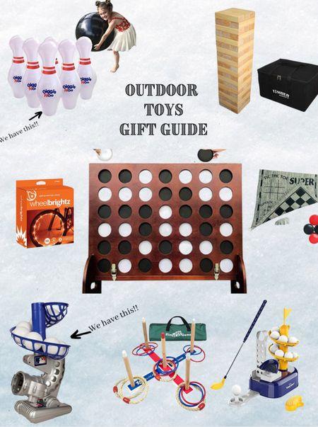 Outdoor Toy Gift Guide  #LTKkids #LTKHoliday #LTKGiftGuide