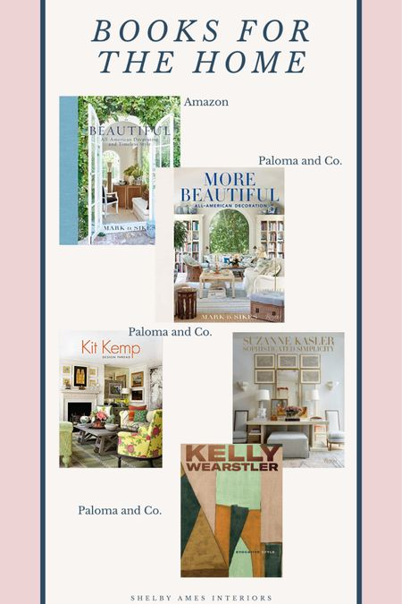 """Shelby Ames Interiors """"All the Pretty Things"""" Library Series Books for The Home http://liketk.it/36DY2 #liketkit @liketoknow.it Shop your screenshot of this pic with the LIKEtoKNOW.it shopping app"""