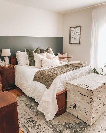 guest room bedroom decor and bed linens   #LTKhome #LTKstyletip #LTKunder100