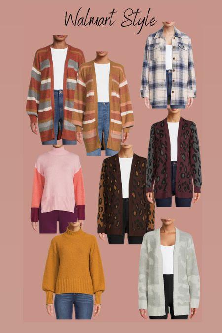 Shacket Cardigan  Sweater Thanksgiving outfit  Walmart fashion   #LTKstyletip #LTKHoliday #LTKSeasonal