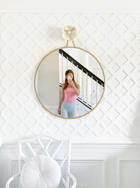 Drawer hardware for decor!  Pearl, ceramic, porcelain, mirror, accent wall, trellis , treillage     #LTKunder100 #LTKhome