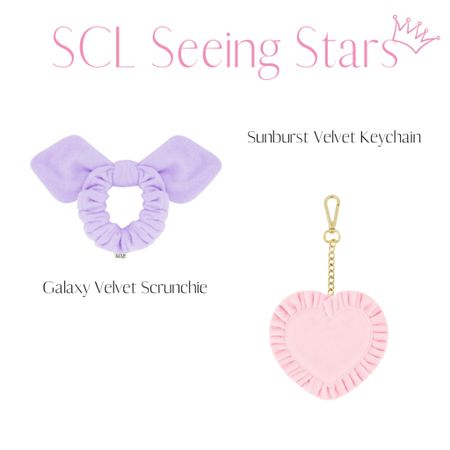 What I picked up in the Stoney Clover Seeing Stars launch! Velvet scrunchie and keychain!   #LTKitbag #LTKGiftGuide #LTKunder50
