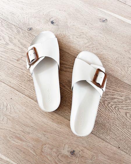 Comfy sandals, cozy slides, contoured shoes #StylinByAylin  #LTKshoecrush #LTKstyletip