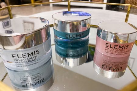 http://liketk.it/3iJ2t #liketkit @liketoknow.it #LTKbeauty #LTKsalealert #LTKstyletip #july4thdeals  Just started using ELEMIS 💕 it's only been a week but, so far I am truly enjoying how my skin feels.  Plus it just smells good!  I cannot comment on results, just yet. However, I will share what this does overtime. I have heard nothing but amazing things about this skin care line, so I'm pretty pumped.  Started myself off with the Pro-Collagen Marine Moisture Essentials 💙💚 $110  Sale is 25% off with code: JULY4  & For a limited time, get a FREE 3-piece gift with $100+ orders after discount.  Need to Snag that night cream now 🙌🏼 Ends: July 5 @ 11:59 EST   Price ranges: $65-$160  (They do have smaller sizes)