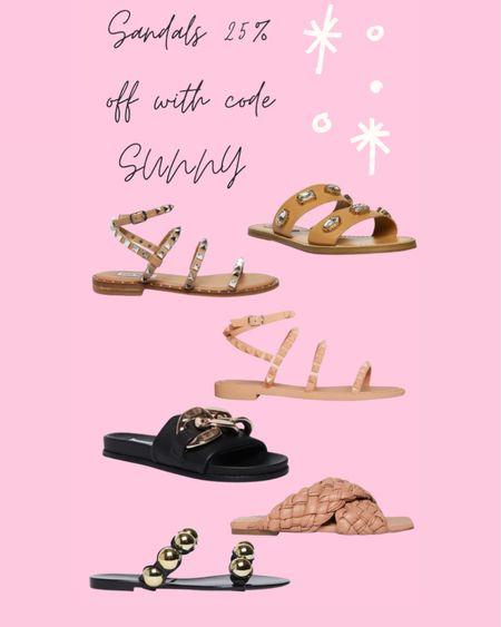 Steve Madden sandals on sale with code sunny http://liketk.it/3hZb0 #liketkit @liketoknow.it #LTKshoecrush
