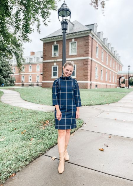 Perfect fall dress for work, religious services and special occasions! Wearing an XS. 40% off with code FALLFEST  #LTKunder100 #LTKsalealert #LTKworkwear