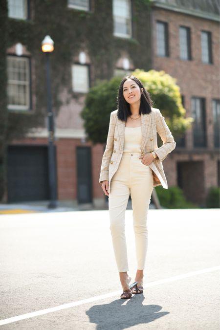 Love this camel plaid blazer! Found lots of similar styles in different price ranges!  #LTKstyletip #LTKworkwear #LTKSeasonal