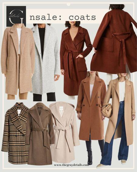 Public access is here! Best of coats for the Nordstrom anniversary sale / wool coats / Vince / #nsale / camel coat / plaid jacket   #LTKsalealert #LTKunder100 #LTKworkwear