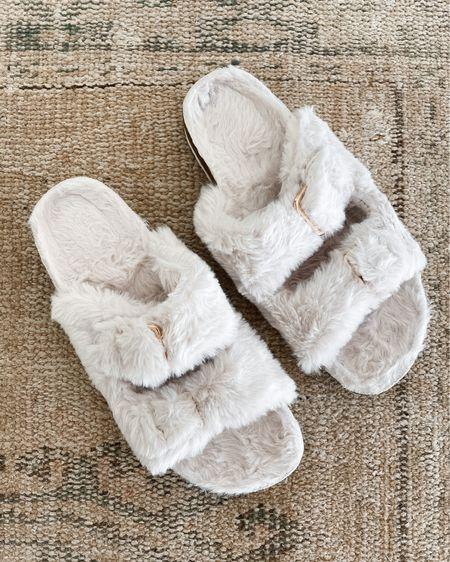 Amazon finds, amazon fashion, faux fur sandals #amazonfinds   #LTKunder50 #LTKstyletip #LTKunder100