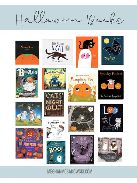 More Halloween Books for your kiddos!   #LTKkids #LTKSeasonal #LTKfamily