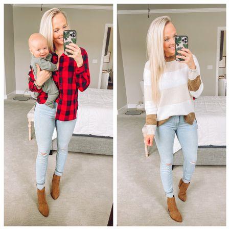 Walmart fashion, @walmartfashion fall look, fall family photos, fall outfit   #LTKunder50 #LTKfamily #LTKstyletip