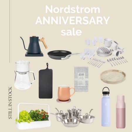#nsale kitchen finds still in stock  Nordstrom anniversary sale, Nordstrom home, Nordstrom kitchen, home decor, self watering garden, self cleaning water bottle, kettle, mug.  #LTKhome #LTKsalealert