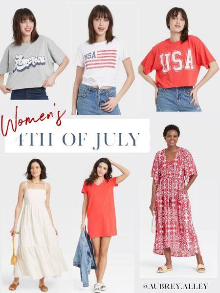 Women's 4th of July outfits! http://liketk.it/3hQoJ #liketkit @liketoknow.it #LTKunder50 #LTKunder100 #LTKtravel