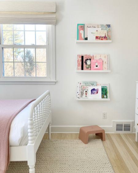 book ledges are one of my affordable go-to solutions for walls in a kid space that need a little somethin' somethin'. swipe for examples! #liketkit @liketoknow.it http://liketk.it/3a0f5 #LTKfamily #LTKkids #LTKhome
