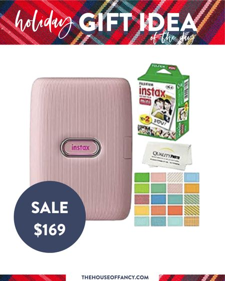 This instax printer is on sale on amazon today! Would make a great gift for your teen girl. We got one last year and love it.   #LTKGiftGuide #LTKsalealert #LTKHoliday