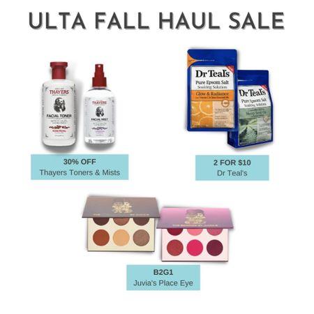 More brand selects from the Ulta Fall Haul Event that started today. It runs through 10/2.   #LTKbeauty #LTKsalealert