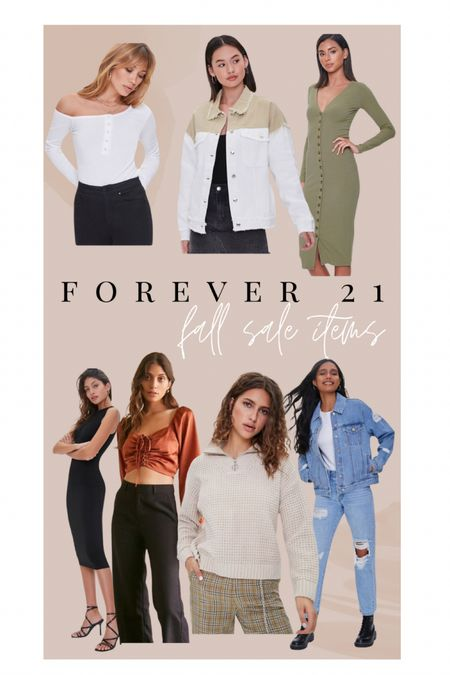 Forever 21 fall fashion on sale