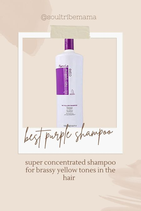 Best purple shampoo on the market! Get your blonde super bright and icy    #LTKbeauty #LTKstyletip