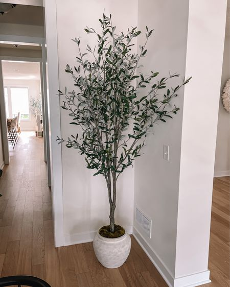 Faux olive tree, studio McGee target, Target home decor, faux plant   #LTKhome #LTKstyletip