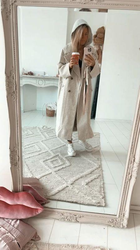 Fave coat already 🤎🤎 love x M&E  #LTKunder100 #LTKSeasonal #LTKeurope