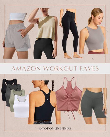 A few favorite Amazon workout clothes! ✨   Amazon, workout, workout clothes, fitness   #LTKfit #LTKunder100 #LTKunder50